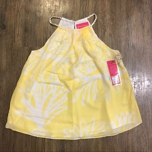 NWT Lilly Pulitzer For Target Pineapple Halter Top